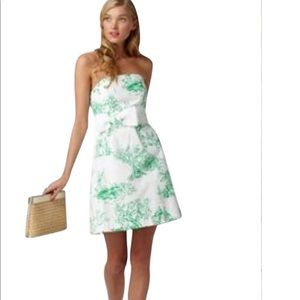 Lilly pulitzer spring fever toile dress size 0
